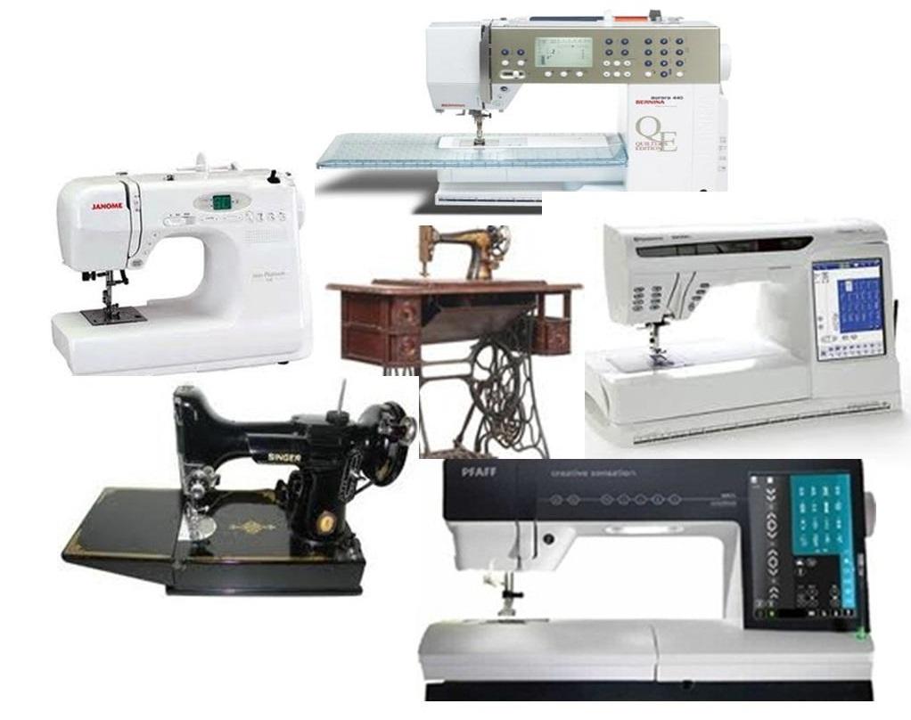 repairs sewing machine